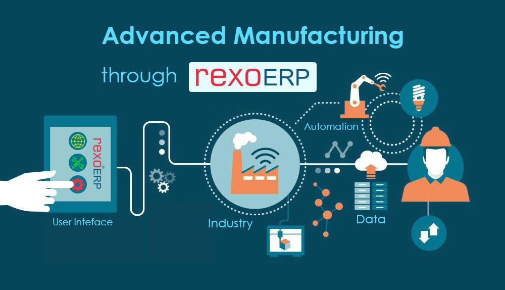 smart manufacturing software - rexo erp